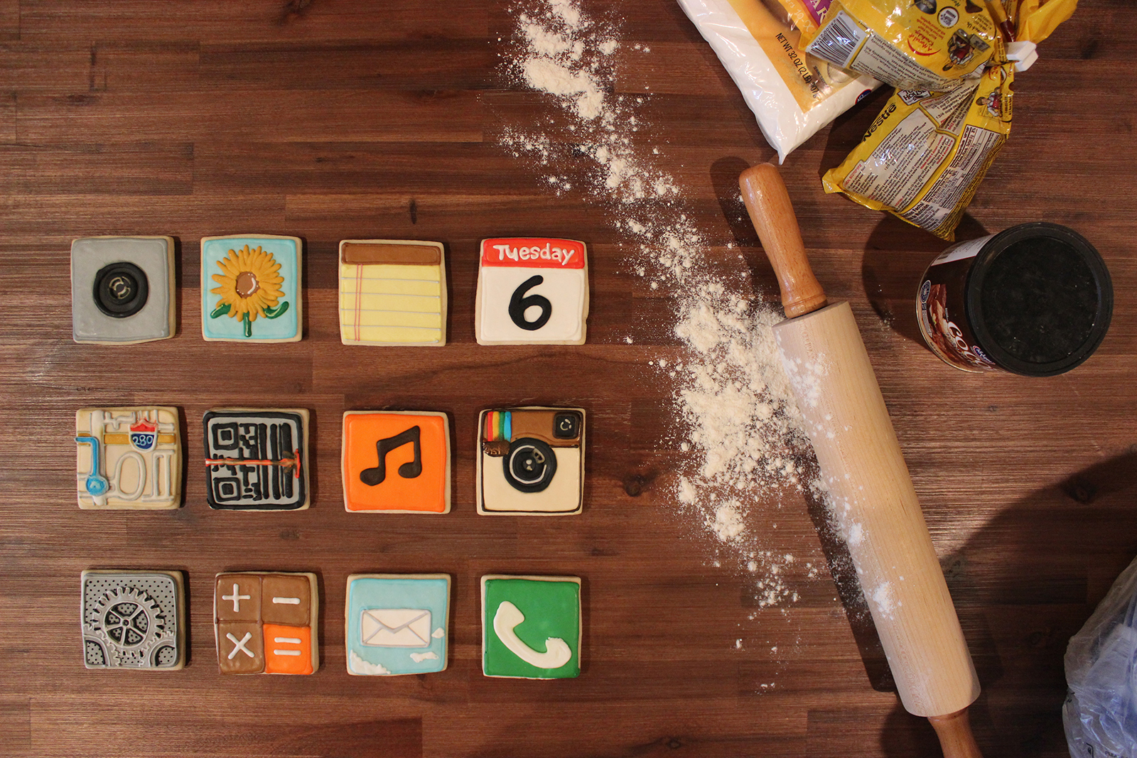 Ios App Icon Cookies 1st Batch Garrett Gee