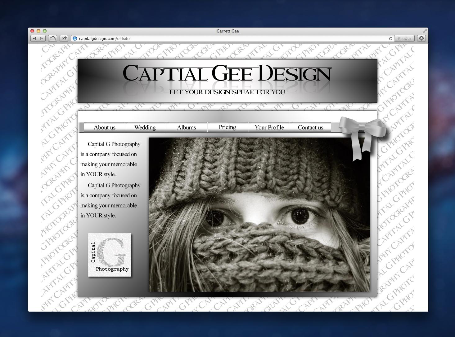 Garrett Gee Website