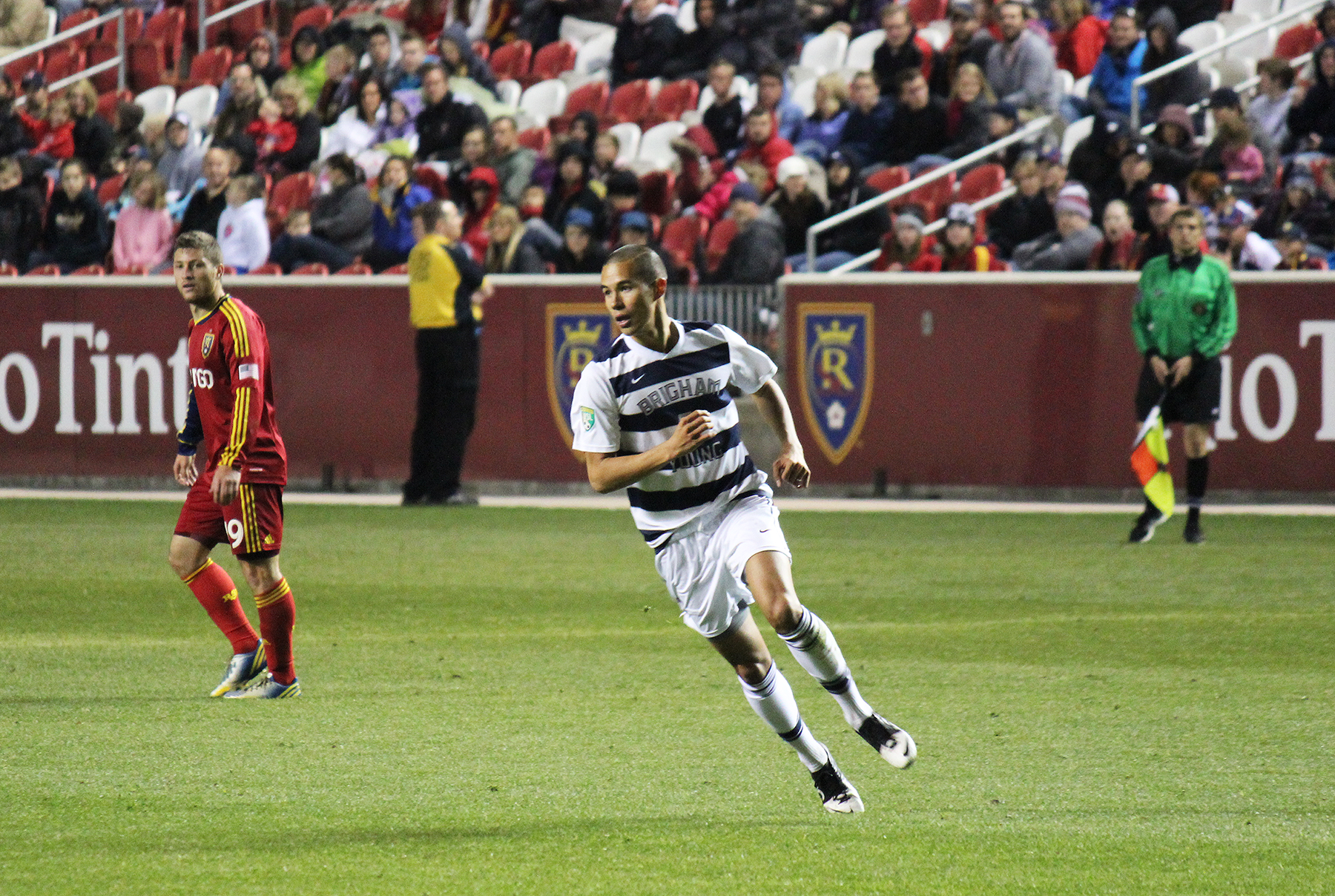 Garrett Gee BYU Soccer