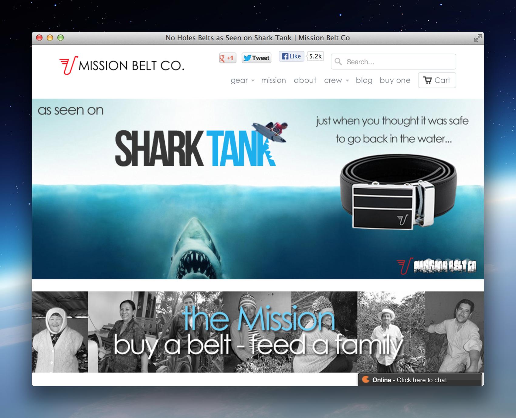 Shark Tank Scan App