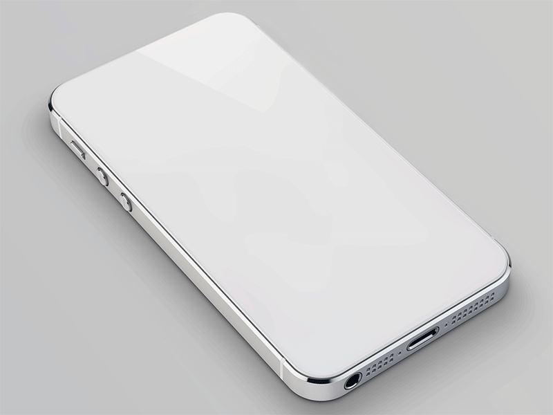 white iphone 6
