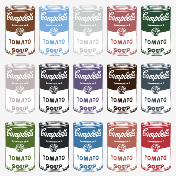 Campbell's Soup - Square Poster